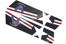 """""""Air Force USAF"""" - Saddlebag Decal Inserts For Harley Police Models 1996-2007"""