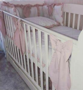 Cot Bows x's 3 Nursery Wall Decor BowsGrey, Pinks, Blues, White, Cream, Mink
