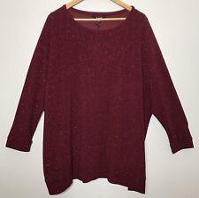 BB Dakota Bethany Glitter Sweater Ruby Red