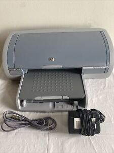 HP DeskJet 5150 Inkjet Printer W/ Power Cord, Ink, USB Cord WORKING EX COND