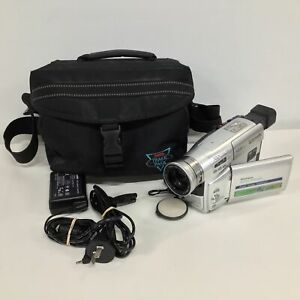 Panasonic NV-VZ15 VHS-C Movie Video Camera PAL Bundle Bag Cords #417