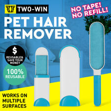 Fur Wizard Pet Fur & Lint Remover Travel Size Hair Cleaner Clothes Fabric Brush