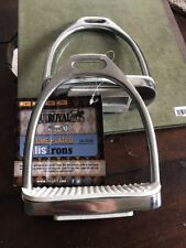 Equiroyal Chrome Plated 4 1/2 Fillis Irons Stirrups. 24-30161.