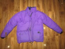 RAB purple goose down Pertex Jacket size large really warm