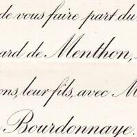 Bernard De Menthon 4e Dragons Menthon-Saint-Bernard 1897 Marie De La Bourdonnaye