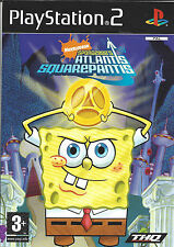 SPONGEBOB'S ATLANTIS SQUAREPANTIS for Playstation 2 PS2 - complete - PAL
