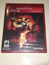 Ps3 Resident Evil 5 Greatest Hits (SEALED)