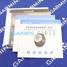 New quick start manual for Garmin Forerunner 405 190-00700-01 genuine