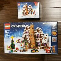 LEGO Creator Gingerbread House 10267 2019 SOLD OUT Sealed Box + BONUS set 40337!