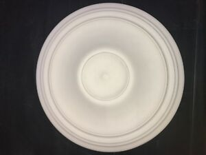 Plaster ceiling rose, Traditional Victorian design. 520mm wide. CP45
