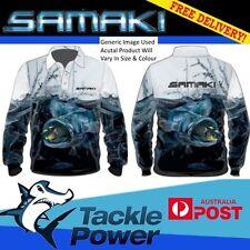 Samaki Fishing Sun Shirt Murray Cod Long Sleeve UPF 50 Tackle World Large