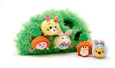 Disney Store Winnie the Pooh and Pals Micro Tsum Plush Easter Set New w/ Tags