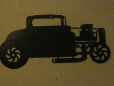 1934 FORD HOT ROD WALL ART TEXTURED  BLACK POWDER COAT FINISH