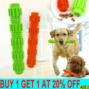 Pet Dog Puppy Rubber Ball Rubber Ball Teething Durable Treat Clean Chew Toy L8
