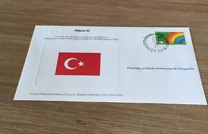 1982 Espana 82 Soccer World Cup  Turkish State Of Cyprus Fdc