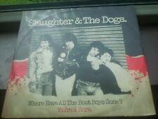 "SLAUGHTER & THE DOGS Where Have All The Boot Boys Gone 12"" vinyl single"