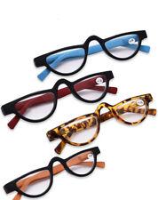 Stylish personality cat eyes slender plastic slingshot retro reading glasses hd