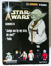 Medicom Kubrick Star Wars Series 5  set of 6 + Han Solo Trench Coast Endor Chase