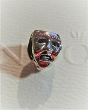 Authentic Pandora Sterling Silver WORLDS STAGE Charm  retired