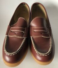 Charm Step Vintage Size 8 M Penny Loafers Slip On Shoe 60's 70's Mod Dead Stock