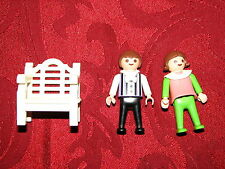 Playmobil Victorian Mansion House Accessories Pieces Girl Boy Kids White Bench