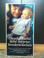 Mattel BIBERELLA Bambola Bebe Surprise Chica Chiquita Freudentranchen MIB, 1991