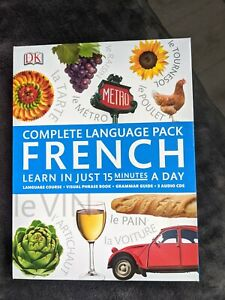 DK Complete Language Package  Course -    French - Learn in 15 minutes a day