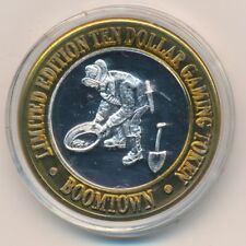 Boomtown Las Vegas $10 Silver Strike-Limited Edition .999 Pure-Nice! Ships Free!