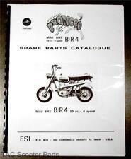Broncco BR4 Mini Bike Parts Book Fantic Bronco