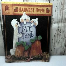 Harvest Home Tole Painting Instruction Pattern book Kathy Distefano Griffiths