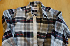 NWOT Thom Browne Checked Oxford Button Down TB1 14.5-31.5 Grosgrain MSRP $425
