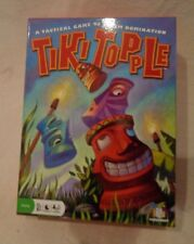 Tiki Topple Board Game Mensa Select by Gamewright 2008 Open Box New Contents