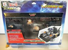KONAMI 2001, 2002 DASH CHARGE BATTLE DIORAMA BATTLEFIELD 11.5X6.5X1.25 GODZILLA