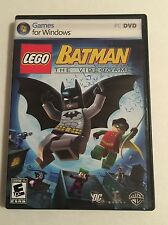 LEGO BATMAN THE VIDEO GAME 2008 GAMES FOR WINDOWS PC DVD