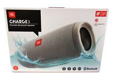 JBL Charge 3 Waterproof Portable Bluetooth Speaker  Gray *CHARGE3GRY