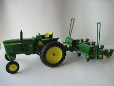 John Deere Farm Toy Tractor 3020 with 494 corn planter OLD 1/16