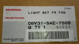 New Honda Genuine Fog Light Assy Pair Sides Replaces OE# 08V31 CRV Accord Civic