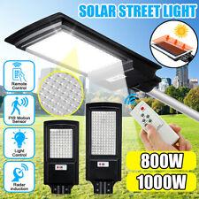 800W 1000W LED Solar Street Light PIR Motion Sensor Outdoor Wall
