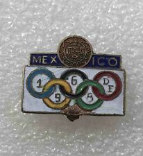 olympic pin NOC MEXICO 1968 DF enamel old very rare