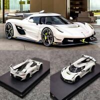 PRE-ORDER FrontiArt 1:64 Scale Koenigsegg Jesko White Resin Car Model With Case