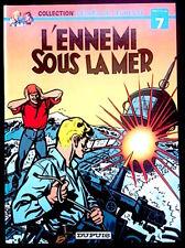 L'EPERVIER BLEU - Sirius - L'Ennemi sous la mer - Péchés de Jeunesse, 1979 - TBE