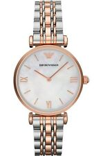 Emporio Armani AR1683 Classic Mother of Pearl Stainless Steel Ladies Watch