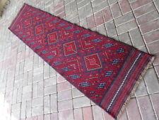 3467 # Tribale Mano Annodato meshwani RUNNER 62 x 253 cm