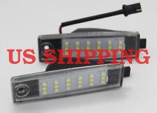 2x LED Number License Plate Lights for Toyota Hiace H200 05-2018 RAV4 2006-2009