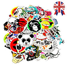 100pcs Random Vinyl Decal Graffiti Sticker Bomb Laptop Waterproof Stickers Skate