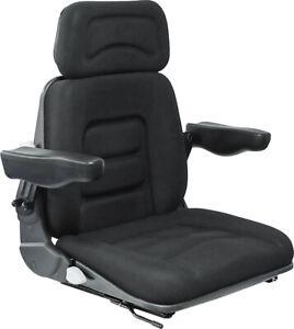 Schleppersitz Staplersitz Sitzoberteil komplett passend Grammer S85/90 Stoff