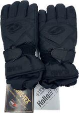 Kombi Unisex Gore Tex Ski Snow Gloves With Thinsulate Hollofil Medium Black