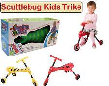 Kids/Children's Scuttle Bug Scuttlebug Ride On Toy Trike Bumble & Beetle Design