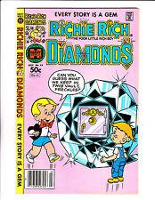 "Richie Rich Diamonds  No 53 : 1981 :"" Diamond Vault Cover! """