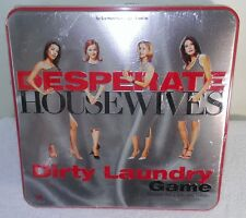 DESPERATE HOUSEWIVES DIRTY LAUNDRY IN TIN BOX, BRAND NEW AND SEALED!